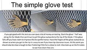 glove test